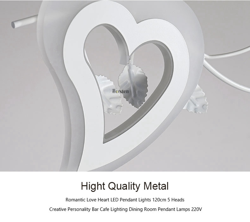 Romantic Love Heart LED Pendant Lights (14)