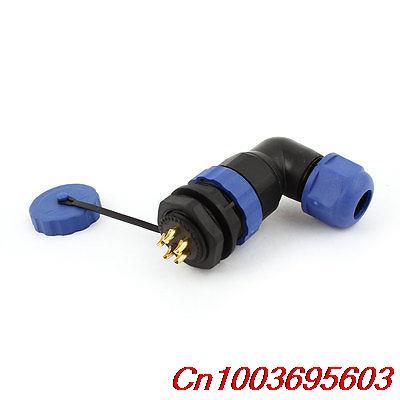 SD20 20mm 5 Pin Elbow Waterproof Aviation Connector Plug Socket IP68<br><br>Aliexpress