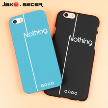Cover Case for iphone 6 5 s 5s 6s Coque Fundas Mobile Phone Accessories Hard PC for Apple iphone 6s 5s SE 5se 6 Plus Cases Cheap