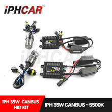 Free Shipping IPHCAR Car Styling 35W Hid Xenon Bulb Kit HID Light Kit Canbus Slim Ballast for Automobile Retrofit Accessories