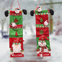 New Arrival Merry Christmas Ornament Home Decoration Tree Door Hang Children Gifts Party Wholesale Free Shipping 30RJ23(China)