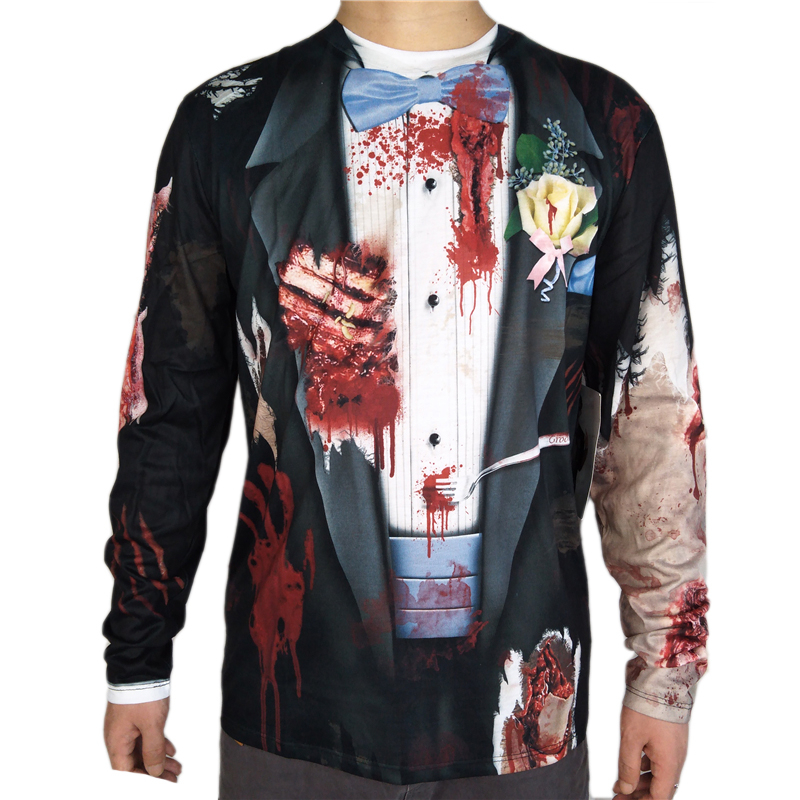 Adult Zombie Groom Halloween Costume