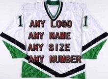 Free Shipping Factory OEM Ice Hockey Jerseys Team Cheap Embroidery Mens Supplier Tackle Twill Shirt USA CANADA Australia(China)