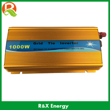 1kw Grid tie micro inverter DC input 10.8-30V or 20-45VDC, AC output 90V-140V or 190V-260VAC for solar system