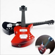 Creative music guitar windproof lighter Guitar musical instrument lighter Gas lighters yanju personality