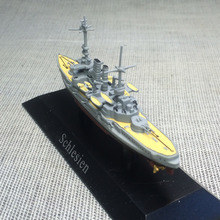 1: 1250 Former Dreadnought - Class Battleship 1908 Silesia Battleship Model Deagostini