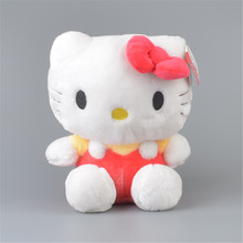 "Classical Red Hello Kitty Stuffed Plush Toy,  12"" Baby Kids KT Doll Gift Free Shipping"