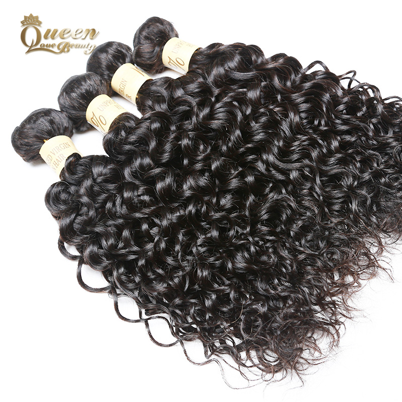Cambodian Water Wave Virgin Hair 4Pcs Cambodian Virgin Hair Wet and Wavy Human Hair Extensions 8A Cambodian Hair Weave Bundles<br><br>Aliexpress