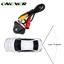 Onever 170 Wide Angle Car Rear View Camera CCD Reverse Backup Parking Rearview Camera IP67 Waterproof with Safety Guide Line