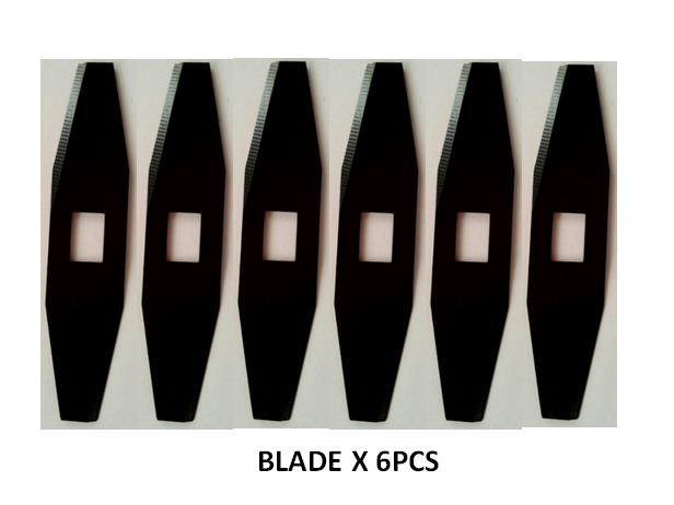 Robot Lawn Mover Blades X 6pcs For Model 8320<br>