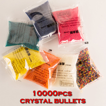 ZUANLONG Brand Crystal bullets 10000Pcs/pack Water Guns Pistol Toys Growing Crystal Water Balls Mini Round Soil Water Beads