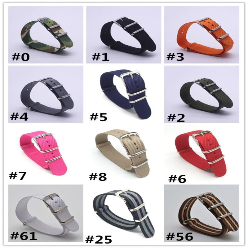 2017 new brand watch strap Watchband 1PCS Nato Strap Watchband 18mm 20mm 22mm Nylon Watch Strap Men Sport Divers Waterproof Stra<br><br>Aliexpress