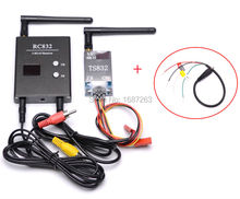 48CH 5.8G 600mw 5km Wireless AV Transmitter TS832 Receiver RC832 plus for FPV Gopro SJ4000 Xiaomi xiaoyi(China)