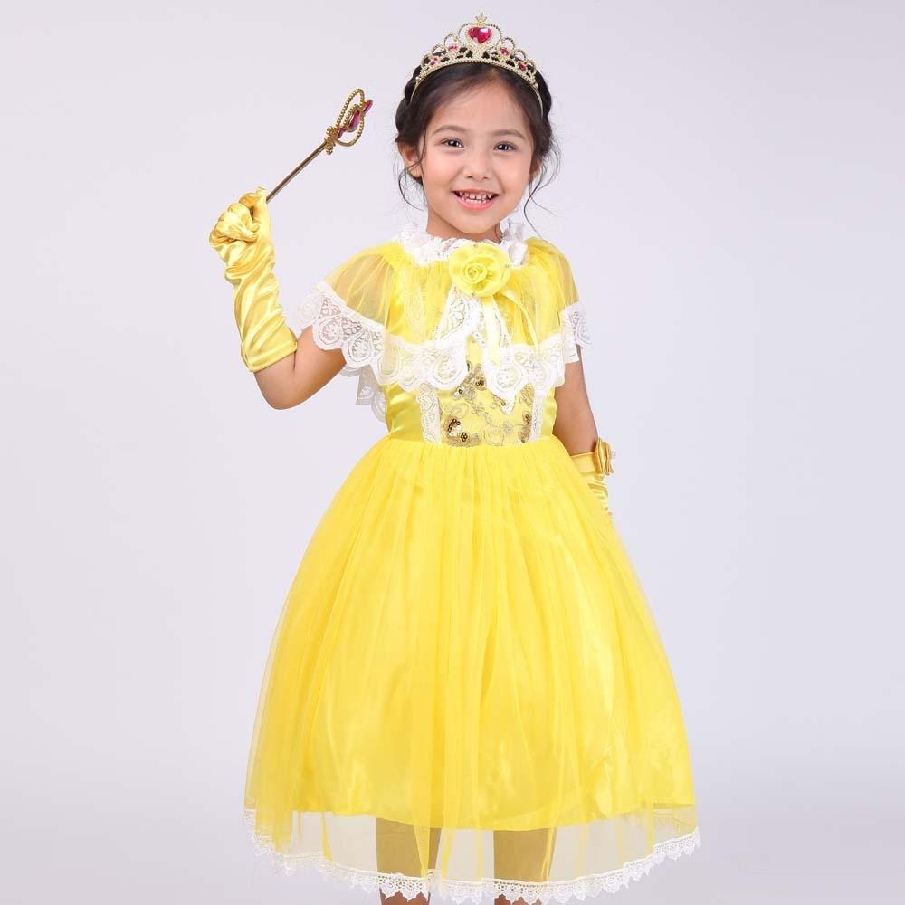 2017 New Pattern Girl Princess Full Dress 61 Show Serve European Foreign Trade Cinderella<br>