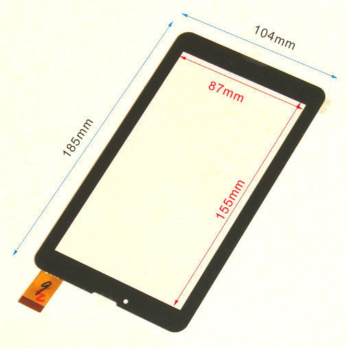 2PCS/lot New 7 TEXET NaviPad TM-7049 3G TM7049 Tablet touch screen panel Digitizer Glass Sensor replacement Free Shipping<br><br>Aliexpress
