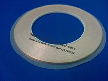 2 roll 4MM*30M Single Adhesive Conductive Copper Tape EMI Shielding Copper Foil Strip Stained Glass Work, Laptop