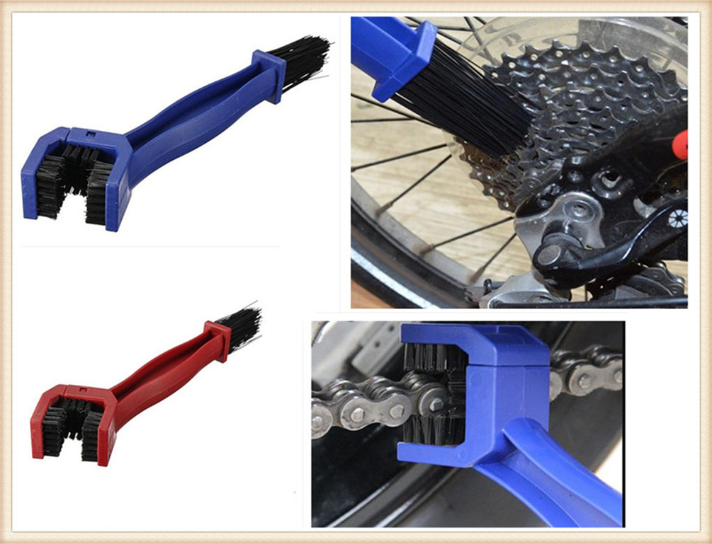 Motorcycle accessories bicycle sprocket wheel cleaning brush for SUZUKI GSF650 BANDIT GSX1250 F SA ABS GSX1400 GSX650F