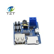 1pcs TF card U disk MP3 Format decoder board module amplifier decoding audio Player(China)