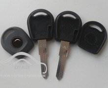 Brand New Replacement  Car Key  Blanks Case For VW Jetta  Transponder Key Shell With Logo