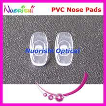 PV43  glasses eyewear eyeglasses pvc nose pads 12mm Screw-in type  glasses accessories free shipping