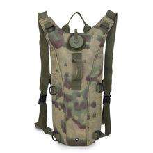 3L Water bag men travel bags Camouflage men backpacks Move the water tank Military backpackME734