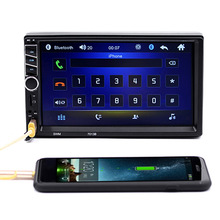 Bluetooth Car MP4 MP5 Player 1080P Video Player Audio Stereo Multimedia FM/MP5/USB/AUX Support Rear View + Remote control(China)
