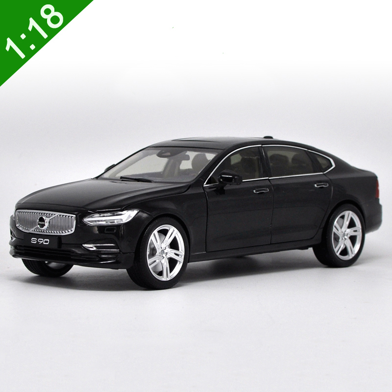 New 1:18 VOLVO S90 S90L Car Model Original Toy boy collection alloy metal Luxury car black gift diecast Free Shipping(China (Mainland))