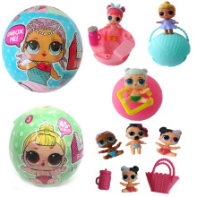 New Series LOL LQL Surprise Doll Surprise Egg DIY Figures Toy for Kids Children Cute Funny Gift Ball Various Send Randomly
