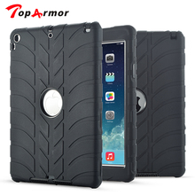 TopArmor For iPad Air 1 Case Kids Safe Armor Shockproof Heavy Duty 3in1 Rugged Silicone Hard Cover For Apple iPad 5 Table Case