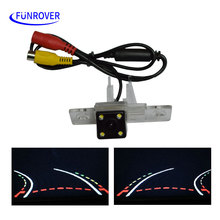 FREE SHIPPING CCD Car Trajectory Reversing Rear view Camera For VW Golf MK4 MK5 Jetta Passat CC B6 Beetle Bora Scirocco Superb
