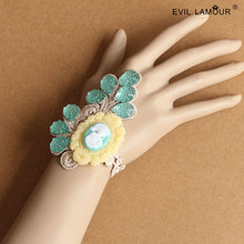 Summer Style Fresh Lace Bangles Bracelets for Beauty Women Party Jewelry Accessories Craft Fashion Charm Bracelet Brand Ws-318