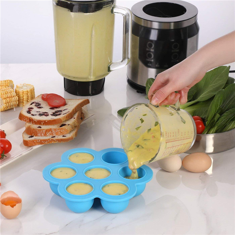 Silicone Baby Food Freezer Tray Weaning Storage Containers Food Mold Mould LA
