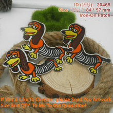 "20465 Slinky Dog  Embroidery Patch ""Accept customized Embroidery, Iron On Patches"""