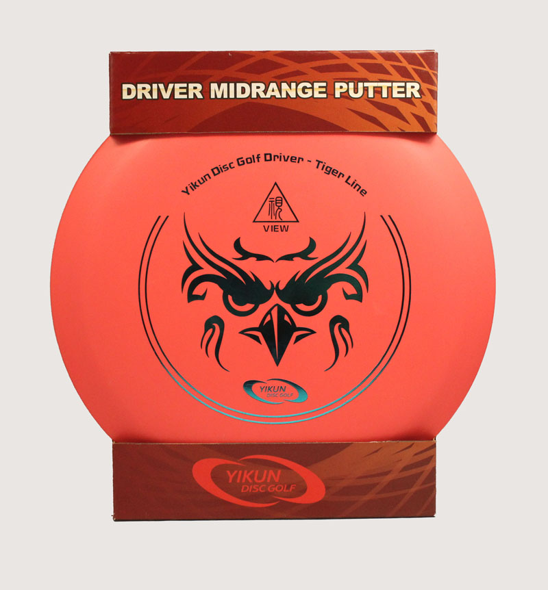 PDGA Approval Disc Golf Set  Beginner Golf Disc Set Starter Set Tiger Line Driver Mid-range Putter 3 in 1<br>