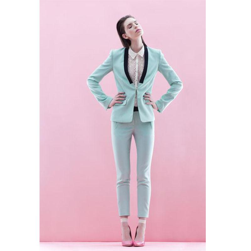 21 ladies winter formal suits women suits blazer suit set female business office uniform elegant pant suits 2 piece set women