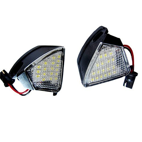 2pc Error Free LED Under Side Mirror Puddle Light for Vw Golf 5 Mk5 Mkv Passat B6 Jetta E8<br><br>Aliexpress