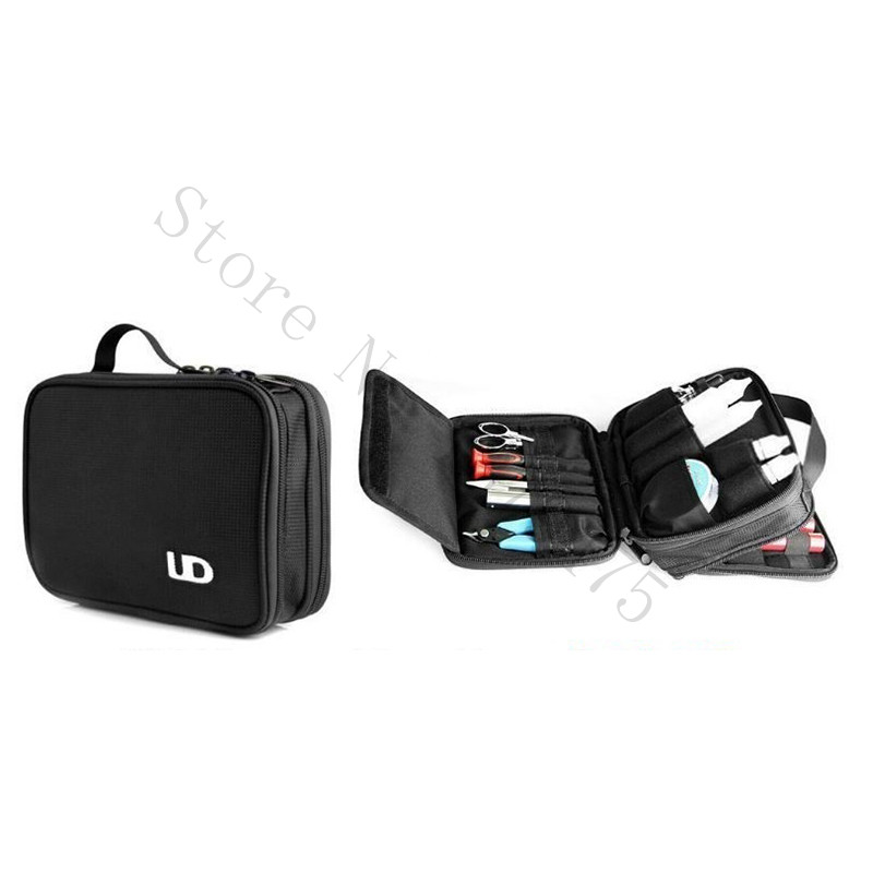 Original UD Vape Pocket Double Deck Vaping Vapor Carry Black Bag Shoulder Strap Electronic Cigarette Vape Accessory 1 Pcs