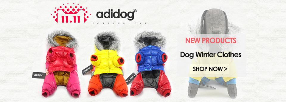 wnter dog clothes adidog 1