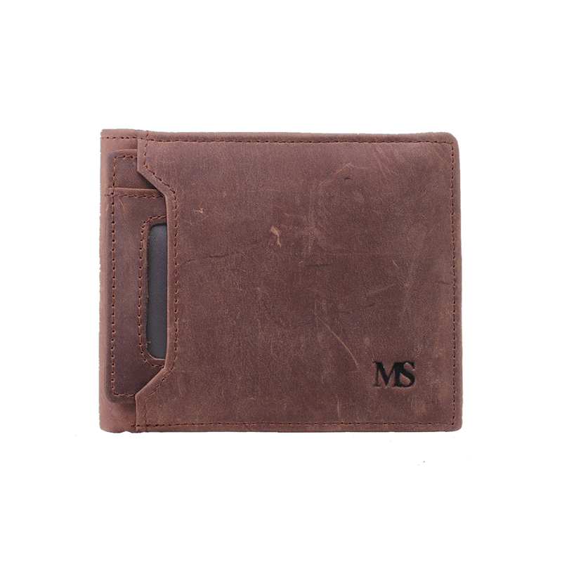 MS Trend Real Crazy Horse Leather Mens Wallet Bifold Money Clip Card Receipt Holder ID Window Driving License Pocket Purse Q329<br><br>Aliexpress