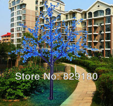1188 led H: 2m blue lighted led cherry trees