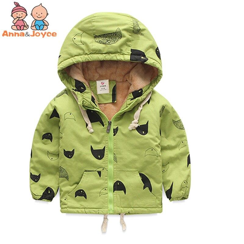 1 Pc Autumn and Winter Childrens Cotton-padded Jacket Boy Thickening Sheep Velvet Warm Cotton Clothing Cartoon Leisure JacketОдежда и ак�е��уары<br><br><br>Aliexpress