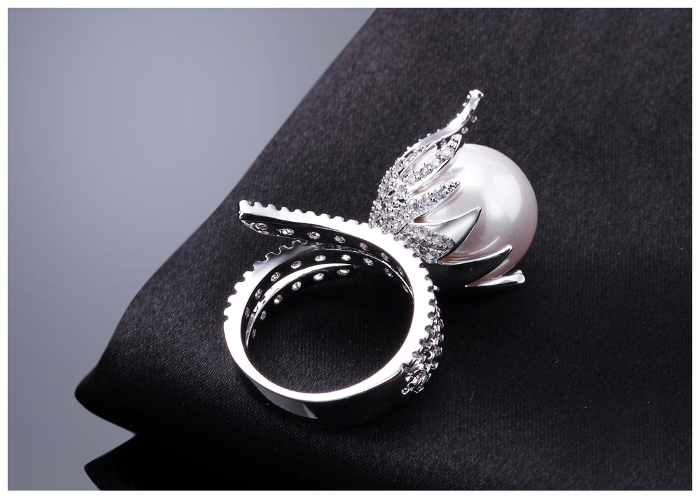 pearl rings 10