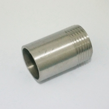 "LOT2 1"" BSP Female Thread Length 50mm 304 Stainless Steel Pipe Fitting Weld Nipple Coupling Connector BSP,"