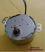 50mm TYC-50 12V permanent magnet synchronous motor 4W 5PM micro AC motor , shaft diameter 5mm~