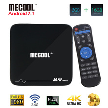 Buy M8S Pro Plus Smart TV Box Android 7.1 4K Amlogic S905X Quad-core 2G 16G 2.4G WiFi IPTV HD Android TV Set Top TV Box Media Player for $43.99 in AliExpress store