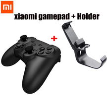 Original Xiaomi Mi Wireless Bluetooth Game Handle Controller Remote Joystick GamePad with Holder Mount For Android Smart TV PC