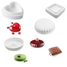 AMW 1 PC Optional Silicone Cake Mold New Arrival Mousse Cake Silicone Mold DIY Kitchen Baking Mold Silicone Bakeware