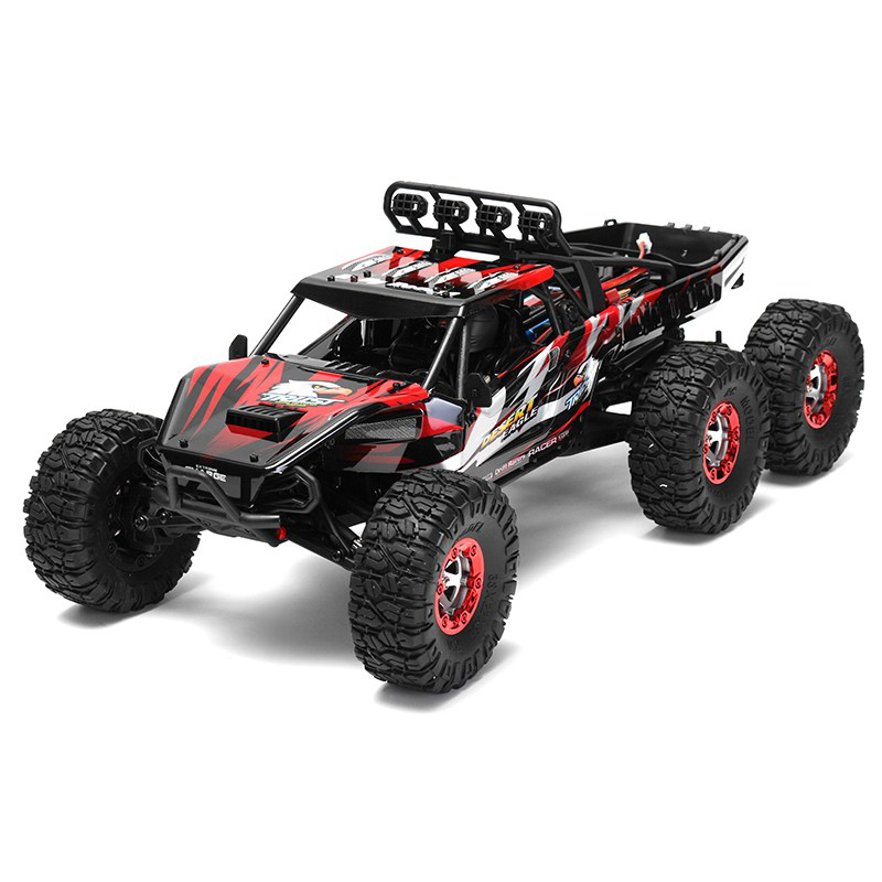 06-6 FY06FY07 112 2.4GHz 6WD RC Off-road Desert Truck RTR 60km70km High Speed Metal Shock Absorber LED Lights boy best gift toy
