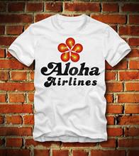 BOARDRIPPAZ T SHIRT ALOHA AIRLINES AIR HAWAII HONULULU MAGNUM FLUGLINIE  RETRO US 0b81bb135c1d