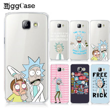 Rick And Morty Phone Case Cover For Samsung Galaxy S6 S7 Edge S8 Plus A3 A5 A7 J1 J5 J7 2016 2017 A510 Soft TPU Silicon Funda